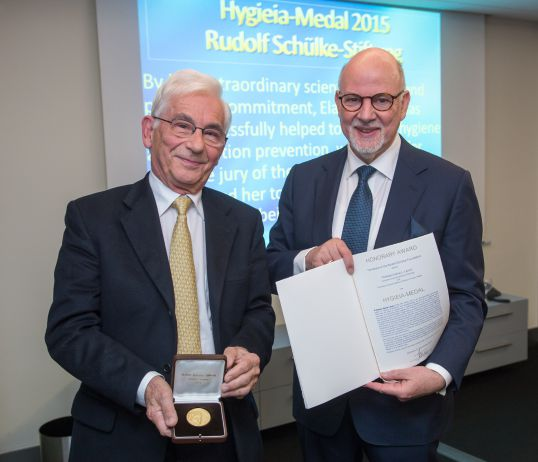 Hygieia Medal 2015 - M. Rotter, M. Exner